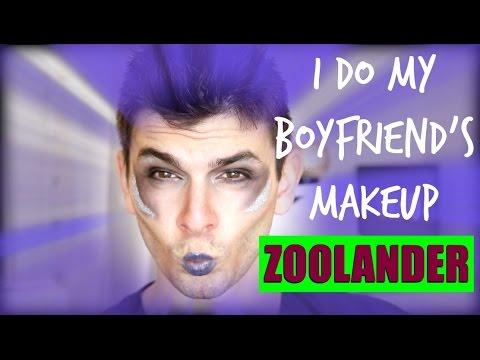 Zoolander Halloween Makeup Tutorial! Blue Steel Makeup!