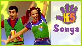hi 5 songs   move your body more kids songs   hi5 house songs