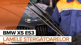 Cum schimbare Lamela stergator BMW X5 (E53) - tutoriale video