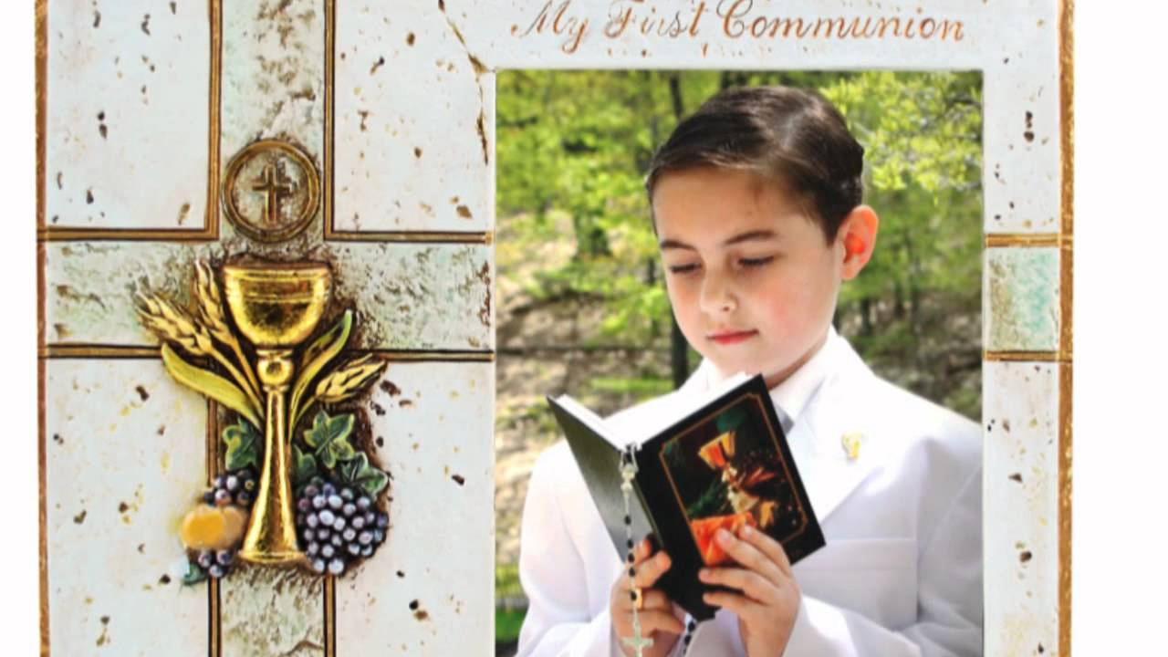 Joseph\'s Studio First Communion Photo Frame - YouTube