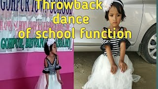 Kids throwback dance / kids extra curricular activities