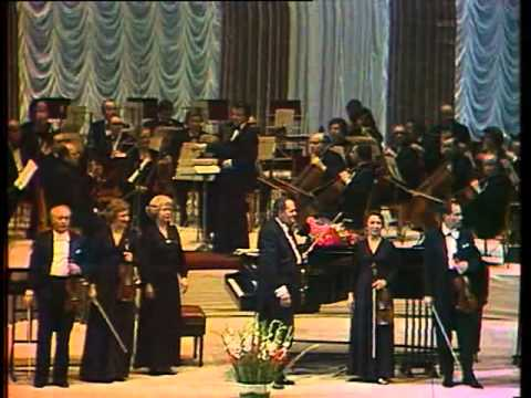 Anniversary concert violin ensemble of the Bolshoi Theatre
