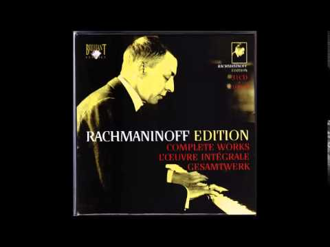 Rachmaninoff - Vocalise in E, Op. 34 No.14