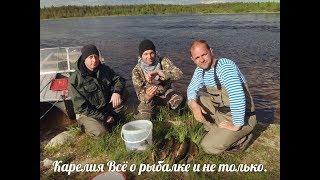 Рыбалка на реке с гостями из Питера.
