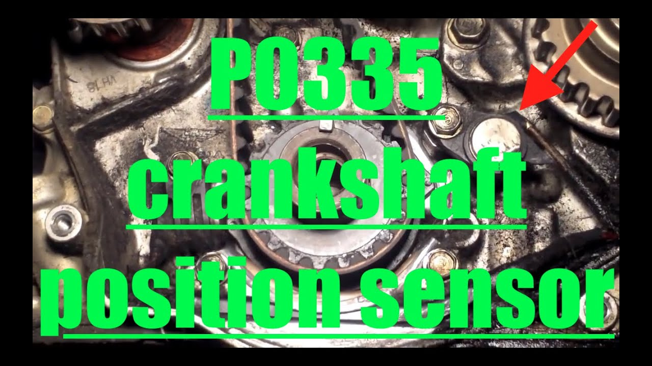 P0335 Replace Crankshaft Position (TDC) Sensor '97'02 Honda Accord √ Fix it Angel  YouTube