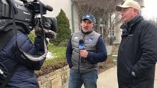 Jim Cantore interviews Boone Town Manager John Ward