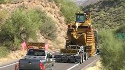 Transporting Caterpillar D11R Part 2