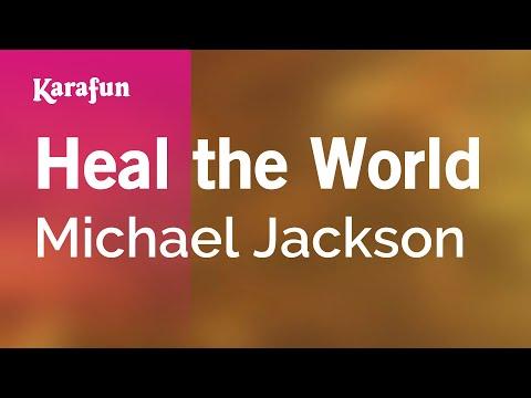 Karaoke Heal The World   Michael Jackson *