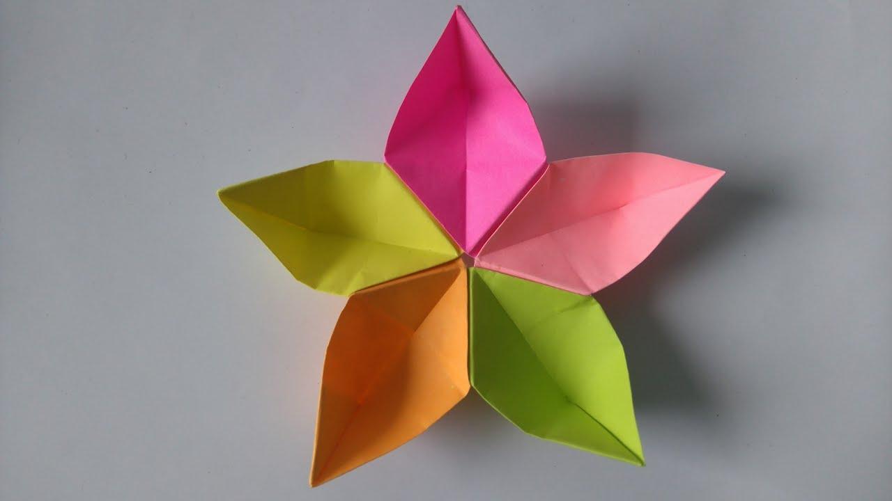 Origami tutorial how to fold origami flower sakura youtube origami tutorial how to fold origami flower sakura mightylinksfo