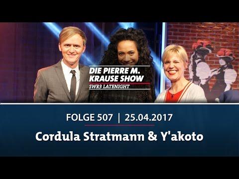 Die Pierre M. Krause Show | Folge 507 | Cordula Stratmann & Y'akoto