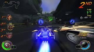 Jak X Combat Racing Gameplay 1 - Deathdrome Track