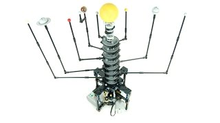 LEGO Solar System Orrery (8 planets) by Sheepo