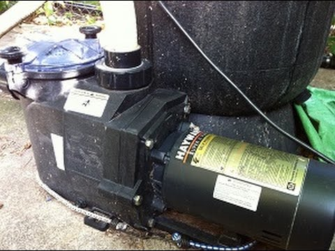 How Long Should I Run My Pool Pump Youtube