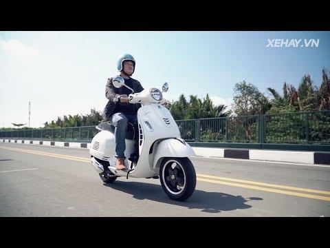 Diễn viên Quốc Thái - Vespa GTS không bao giờ lỗi thời |XEHAY.VN|