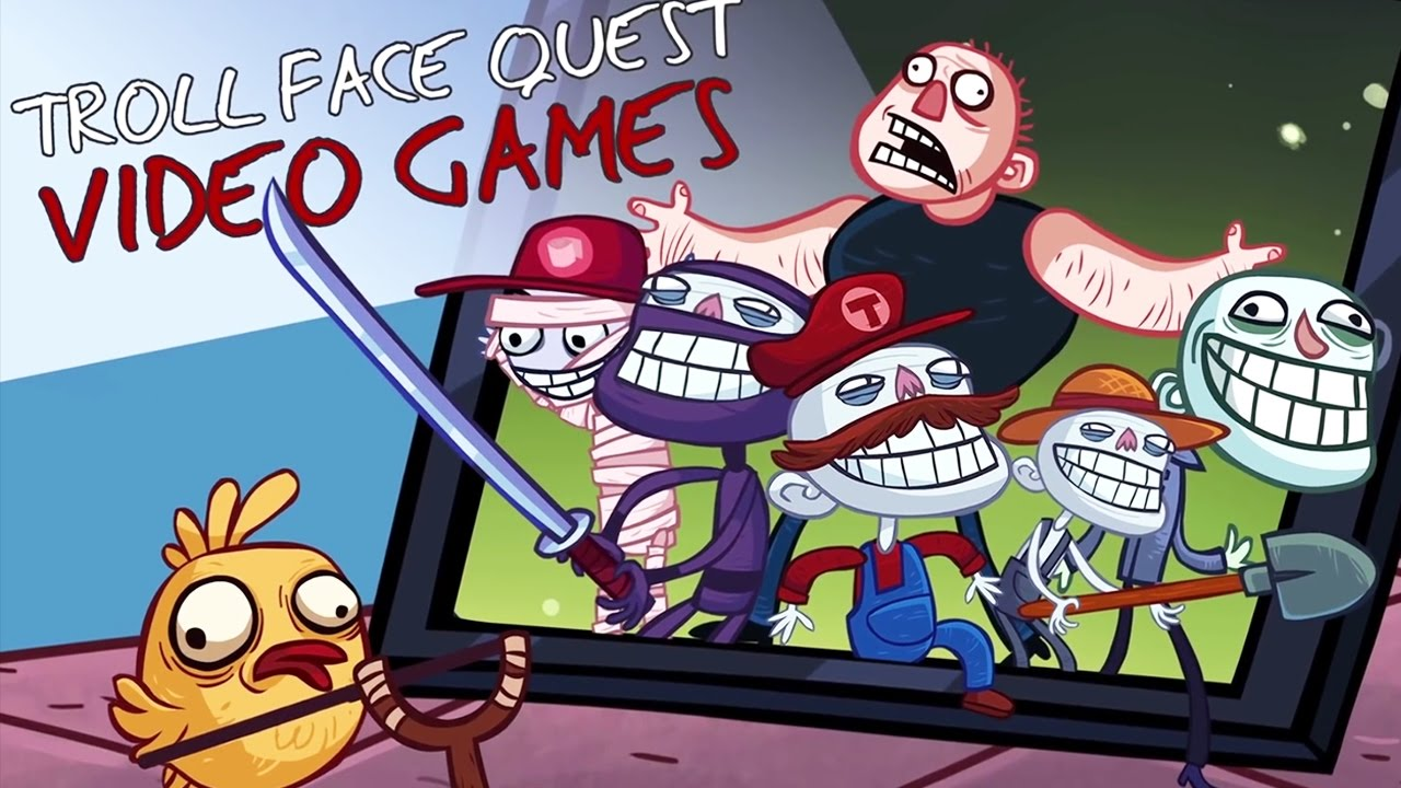 Прохождение игры trollface video games
