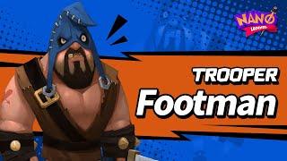 Footman - Trooper Gameplay