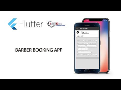 Flutter Tutorial - Barber Booking App #24 Display Customer Info