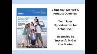aetna short term care insurance training webinar