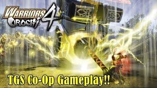 Warriors Orochi 4『無双OROCHI3』Tokyo Game Show Co-Op Gameplay With Lu Bu and More!!
