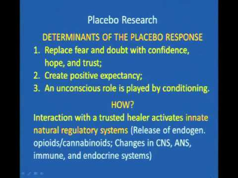 The Therapeutic Alliance in Medicine and Psychiatry