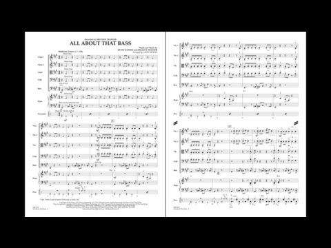 All About That Bass arranged by Larry Moore
