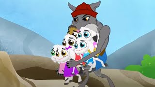 Волк и семеро козлят 2 + Кот в сапогах | сказка | Сказки для детей и Мультик