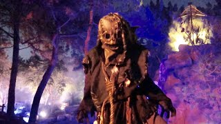 Knott's Scary Farm 2019 Opening Night - NEW Mazes & Experiences / Halloween Log Ride / Scare Zones
