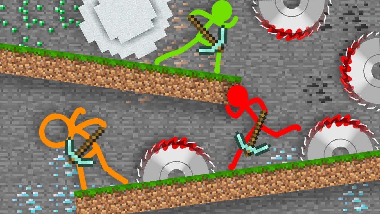 Stickman VS Minecraft Alan Becker AVM Shorts 18 STICK FIGURE Animation vs. Minecraft Shorts