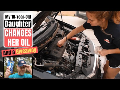 Blown Engine!  Nope, My 18-Year-Old Daughter Changes Oil!