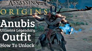 Assassin's Creed Origins - ANUBIS Legendary Ultimate OUTFIT UNLOCK