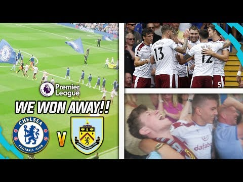 I AM IN DREAMLAND!!! - CHELSEA 2-3 BURNLEY AWAY DAY VLOG!!