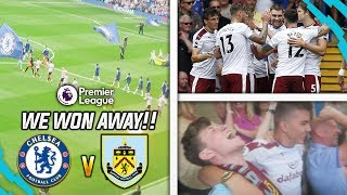 Download Video I AM IN DREAMLAND!!! - CHELSEA 2-3 BURNLEY AWAY DAY VLOG!! MP3 3GP MP4