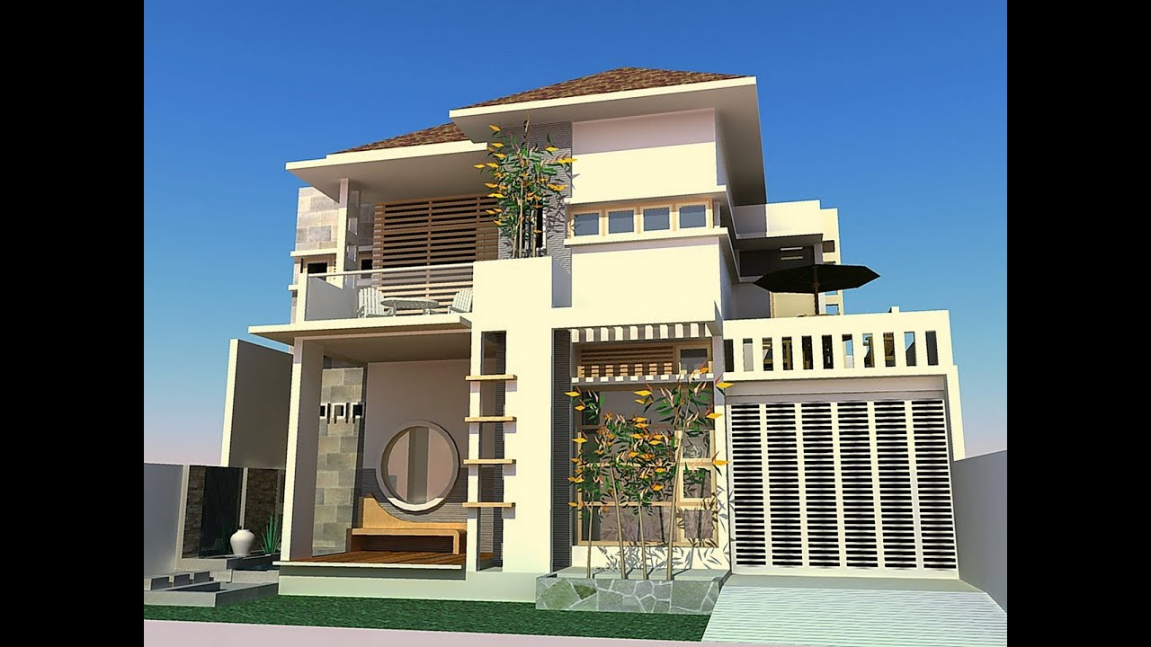 HOME 3D Minimalist Exterior Design YouTube