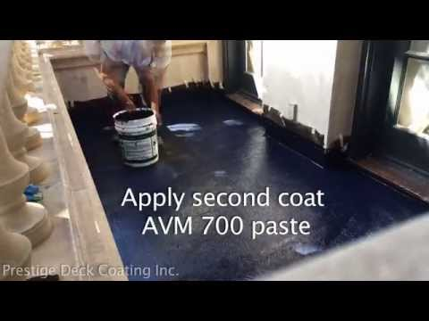 AVM Industries 700 Membrane - Prestige Deck Coating