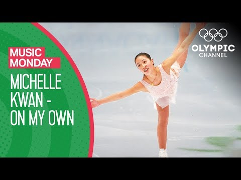 Michelle Kwan Figure Skating to On My Own | Nagano 1998 Olympic Games | Music Monday