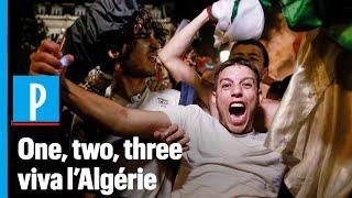 L'Algérie en finale de la CAN : les supporteurs envahissent les rues