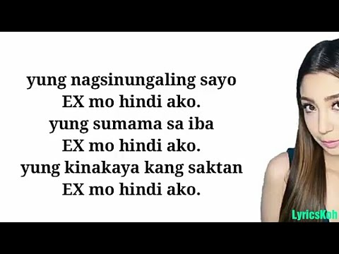 Donnalyn Bartolome - Hindi Ako (Lyrics)