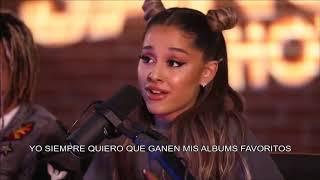 ariana grande habla sobre los grammys (sub español)