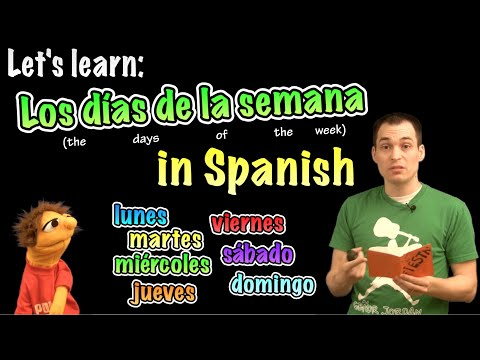 Learn the Days of the Week in Spanish!