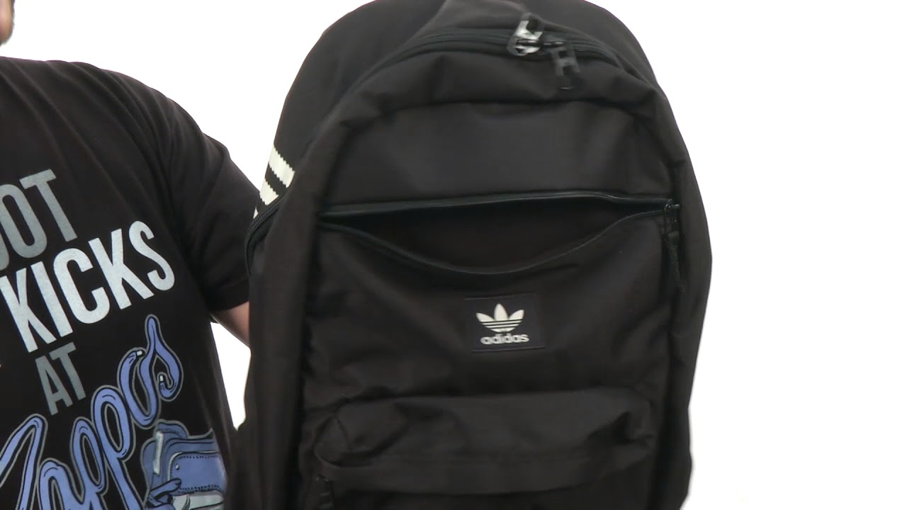 a33c4a7f2262 adidas Originals National Backpack SKU 8702653 - YouTube