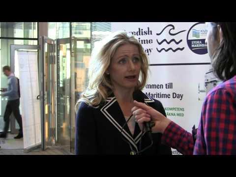 Intervju med Lisa Emelia Svensson under Swedish Maritime Day 2013