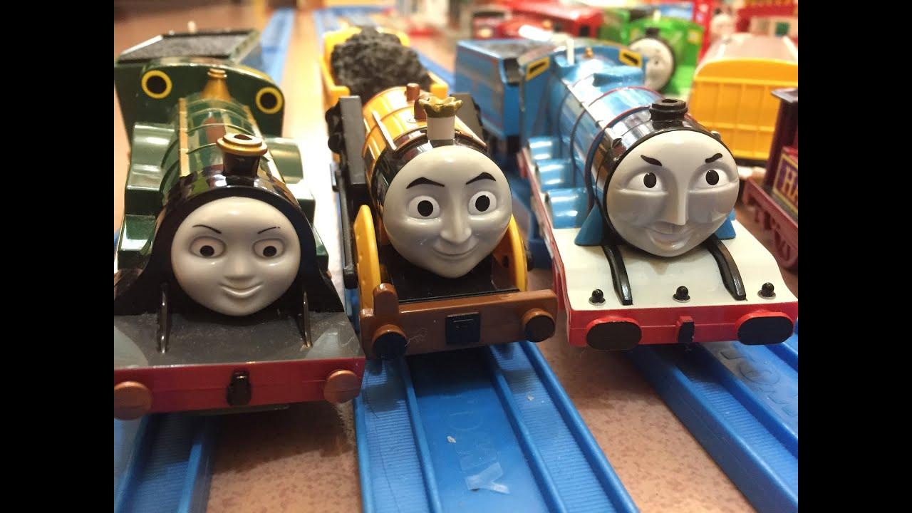 trenes de juguete】 Thomas y sus amigos Stephen, Emily, y Gordon ...