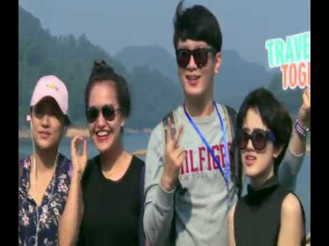 """The Campaign of Transnational """"Couples"""" Touring Qiandao Lake Successfully Held"""