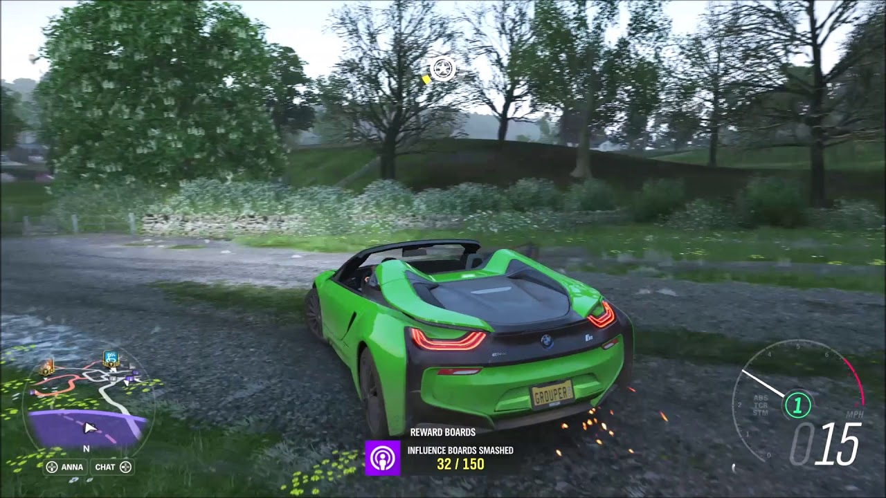 Fh4 Bmw I8 Roadster Barn Finding Gameplay Forza Horizon 4 Youtube