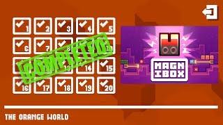 Magnibox THE ORANGE WORLD Level 1-20 Walkthrough