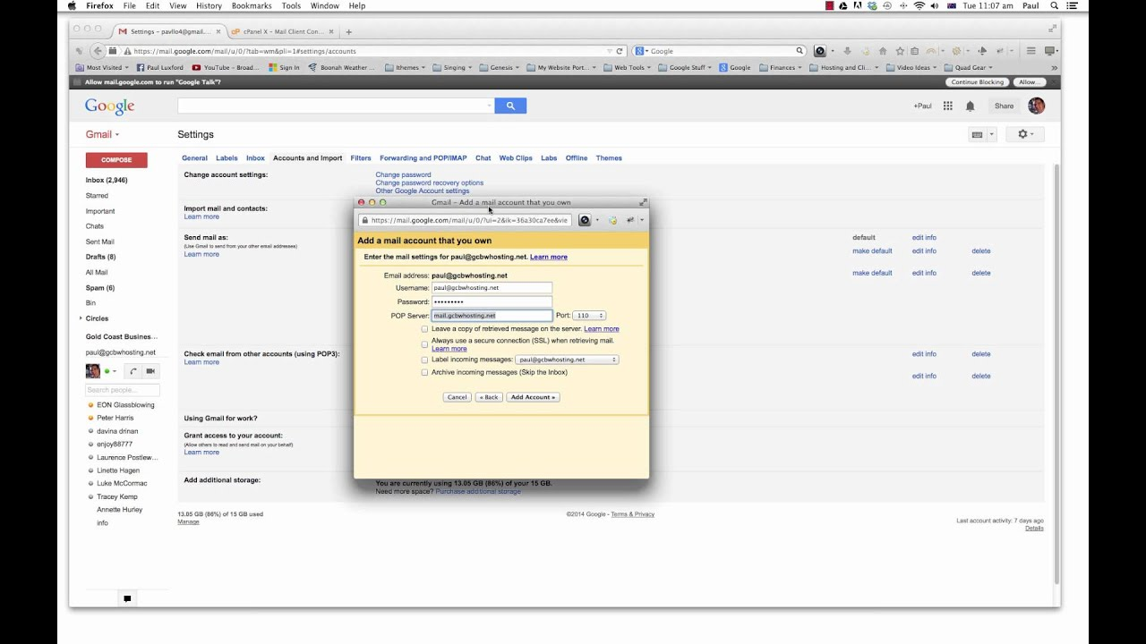 How to Add Another Email To Your Gmail Account