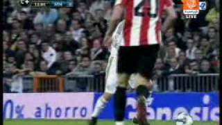 real madrid vs athletic de bilbao 1 0 goal sneijder amazing