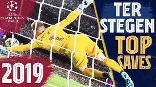 BEST TER STEGEN SAVES in the Champions League (2019)