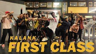 Kalank - First Class   Alex Badad Choreography   Dance (class video)
