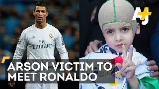 Cristiano Ronaldo Will Make A Palestinian Boy's Dream Come True